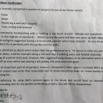 Letter From Gill Bibby